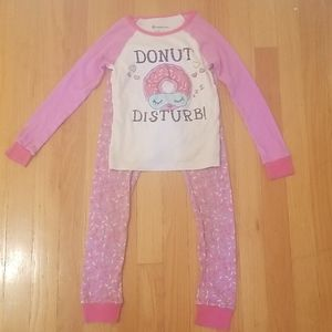 Pink and White Donut Pajama Set